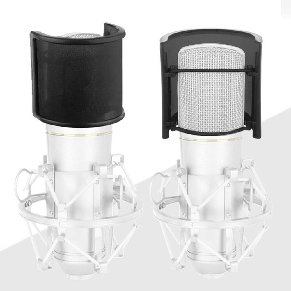 Professional U Shape Double Layer Recording Studio Microphone Windscreen Pop Filter Mask Shield Cover Studio Windscreen 3