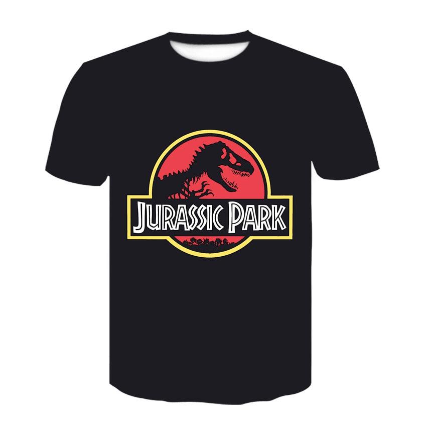 Jurassic park 3d impresso t camisa engraçado fora branco tshirt casual roupas masculinas t camisa jurássico mundo preto manga curta cosplay