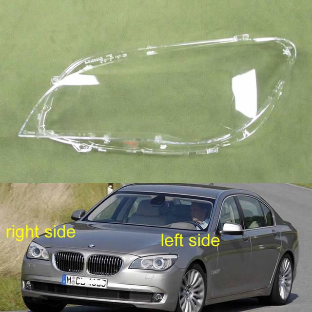 ل BMW 7 سلسلة 2009 2010 2011 2012 2013 2014 2015 F02 F01 730 735 740 745 كشافات غطاء الظل كشافات عدسة شفافة قذيفة