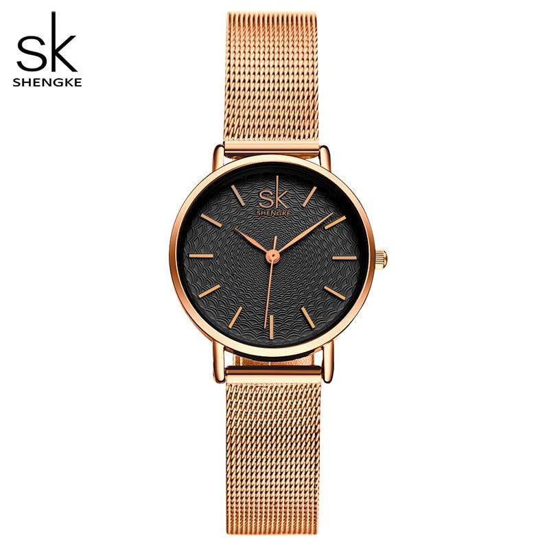 SK New Fashion Brand Women Golden Wrist Watches MILAN Street Snap Luxury Female Jewelry Quartz Clock Ladies Wristwatch 2017|wristwatch brand|wristwatch women|wristwatches clock - title=