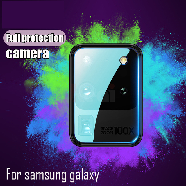 Camera Screen Protector For Samsung Galaxy S20 Ultra FE S21 S10E S10 S8 S9 Plus Lens Film A51 A71 A20 A50 A70 A52 Tempered Glass 6