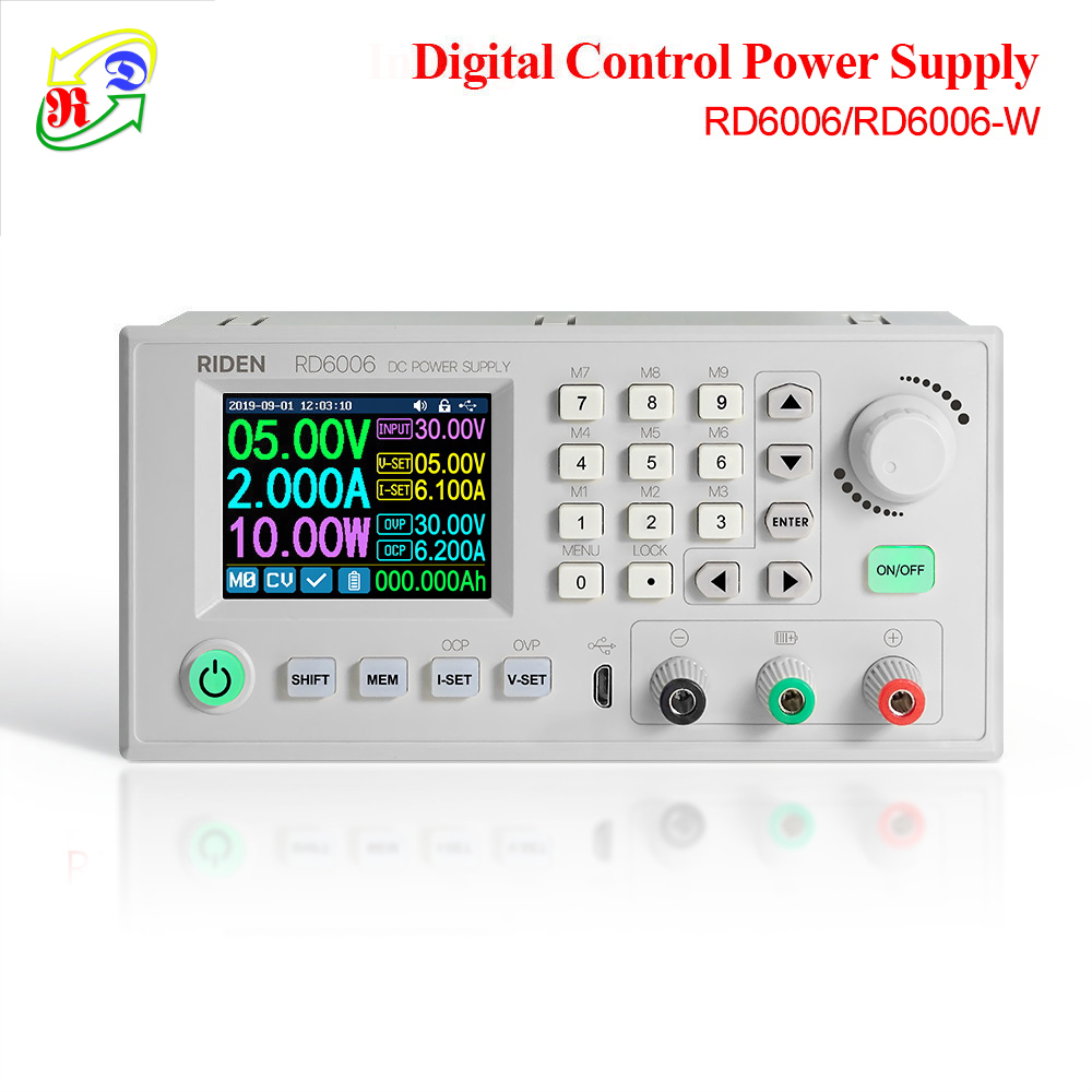 RD RD6006 RD6006W USB WiFi DC - DC Voltage current Step-down Power Supply module buck adjustable converter multimeter 60V 6A