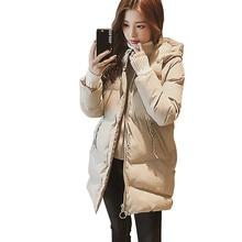 New Long Down Jacket Women ultra Light Coat Winter Autumn Warm Puffer jacket Lady Fashion