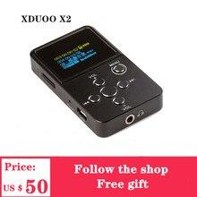 XDuoo X2 오디오 음악 플레이어 HiFi 미니 음악 플레이어 디지털 플레이어 DAP 지원 MP3