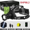Xhp90 2 led headlight xhp90 high power headlamp usb 18650 rechargeable head flashlight xhp70 2 head light xhp50 2 zoom head lamp review