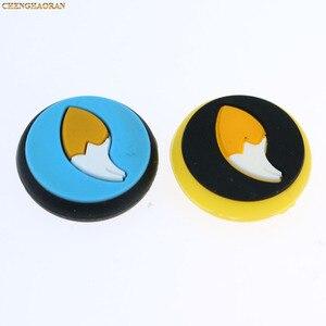Image 3 - Mix 35 farben Silikon Analog Thumb Stick Griffe Kappen für Nintend Schalter NS JoyCon Controller Sticks Kappe Haut Freude Con abdeckung