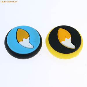Image 3 - Mix 35colors Silicone Analog Thumb Stick Grips Caps for Nintend Switch NS JoyCon Controller Sticks Cap Skin Joy Con Cover