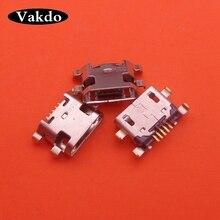 100 יח\חבילה מיקרו USB טעינת dock נמל מחבר שקע החלפת חלק עבור מוטורולה Moto E6 בתוספת