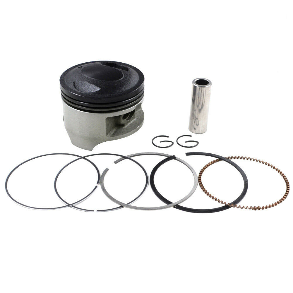 NEW Motorcycle 66mm 16mm Pin Piston Ring Kit for Suzuki DR200 DR200SE DR200S 1986-2017 DF200 Van Van 200 200cc Spare Parts image
