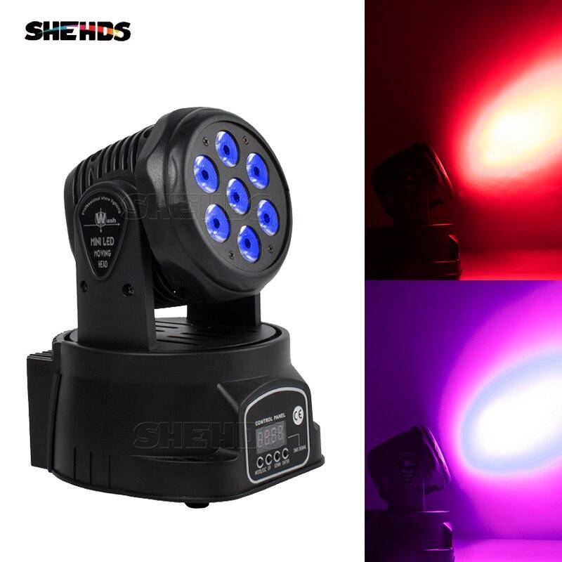 Luces LED de 7x18W RGBWA + UV 6 en 1 de 2/4 Uds., luz con cabezal móvil para DJ, discoteca, fiesta, Bar, boda, salón de baile, iluminación de escenario, envío rápido 2 uds. Bombilla de repuesto T5 tubos de luz LED G5 DC12V 6w 430mm 450mm 480mm 1ft tubo fluorescente de conductor incorporado
