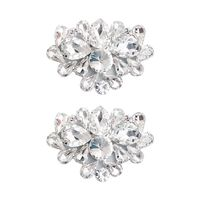 New Fashion Bridal Jewelry Luxury Rhinestones Shoes Buckle Wedding Shoe Flowers Wedding Dress accessories