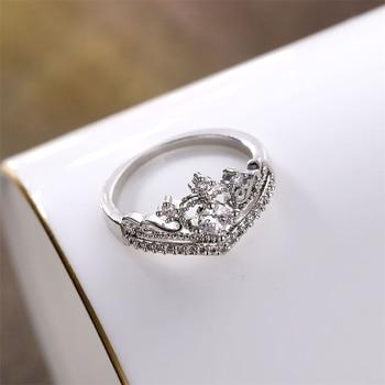 Zircon Crown Ring  2