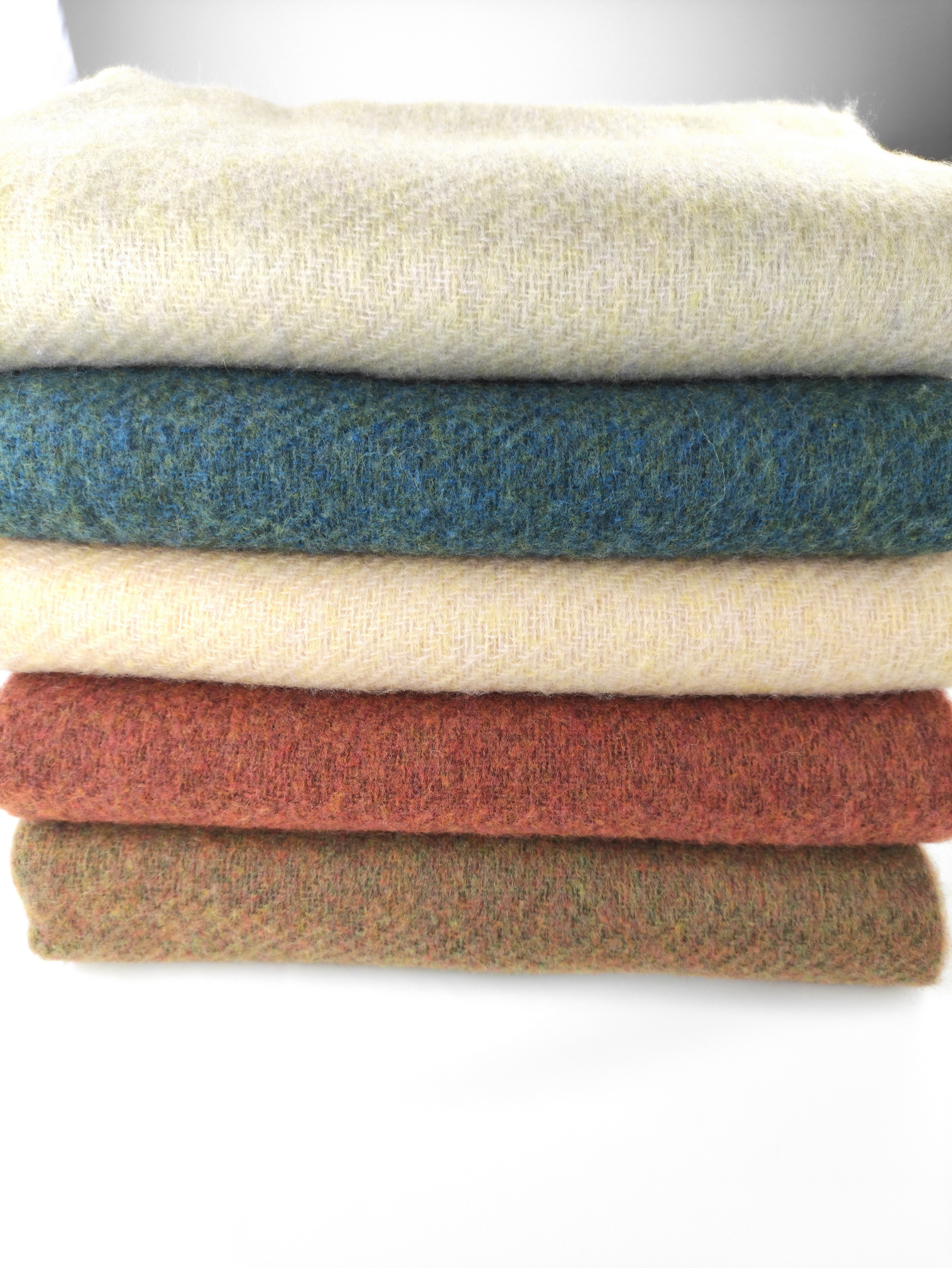 Bufandas de lana Lisa para mujer, chales de invierno gruesos, cálidos y suaves, largos, 2020