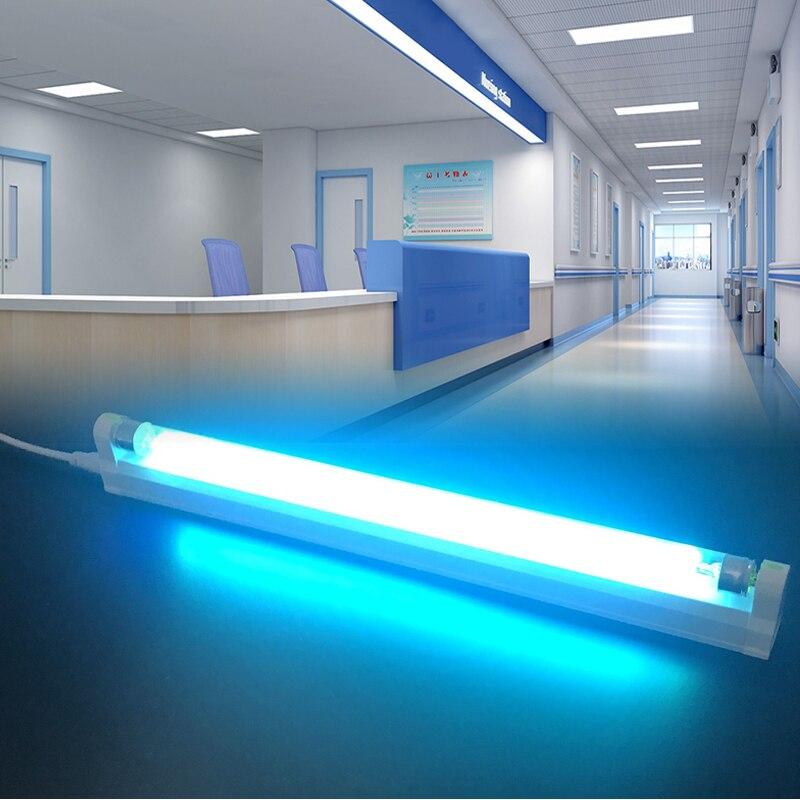220V Ultraviolet Germicidal Light T5 Tube 6W 8W UVC Quartz Ultraviolet Lamp UV LED Lamp Bactericidal Lamp For Home And Hospitals