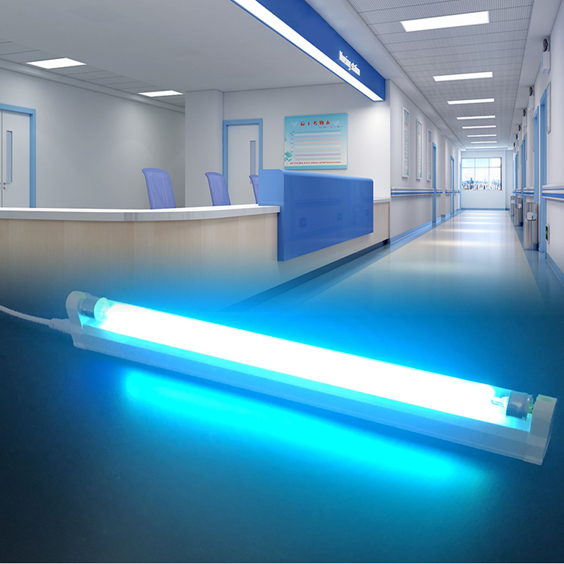 AC110V 220V Ultraviolet Germicidal Light T5 6W 8W Quartz Ultraviolet Lamp UV LED Lamp Bactericidal Lamp For Home And Hospitals