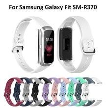 Cinturino da polso sportivo in Silicone di moda Super popolare cinturino da polso per Samsung Galaxy Fit SM R370 accessori Smart Watch