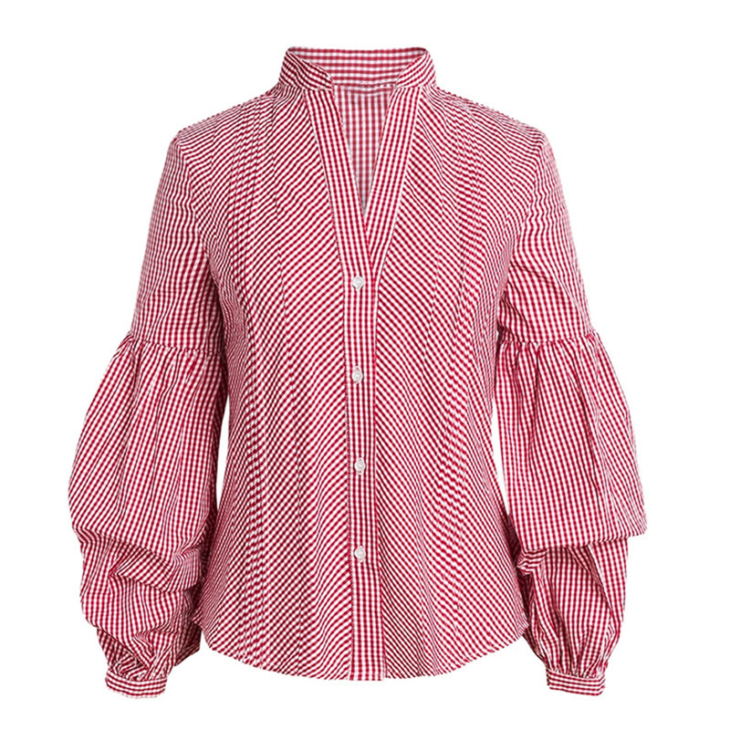 women blouse fashion 2020  female ladies clothing womens striped casaul office work long sleeve top shirt top 90s