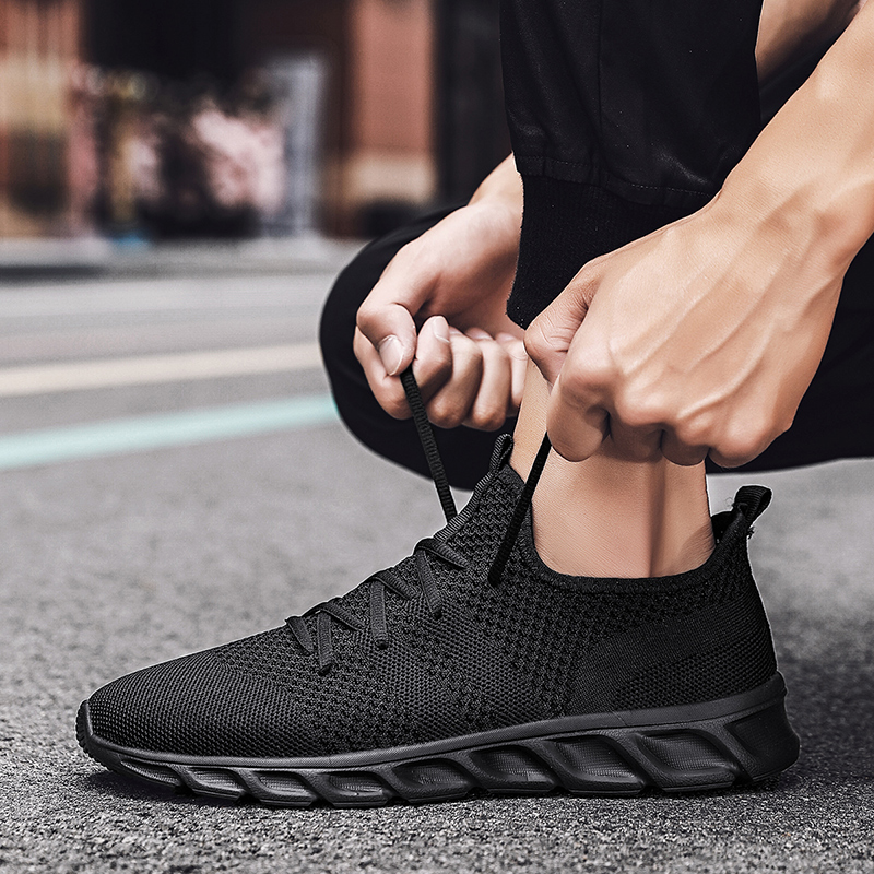 Men Shoes Plus Size 47 Men Casual Shoes Summer High Quality Mesh Sneakers Lightweight Breathable Male Trainers 48