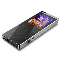 Reproductor MP4 HiFi HD inalámbrico de 48GB y 2,4 pulgadas, micrófono estéreo de graves sin pérdidas, Cable de carga rápida, altavoz con grabación FM y ranura TF + lector