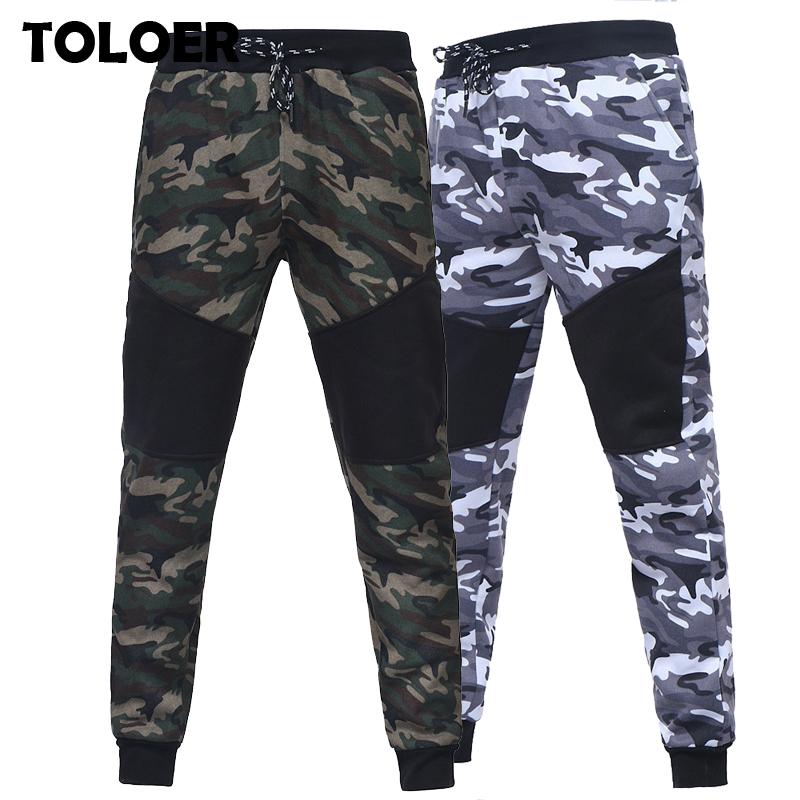Camouflage Jogger Pants Men Fashion Sweatpants Men Autumn Fitness Bodybuilding Gyms Pants Male Ankle Length Sport Trousers 3XL