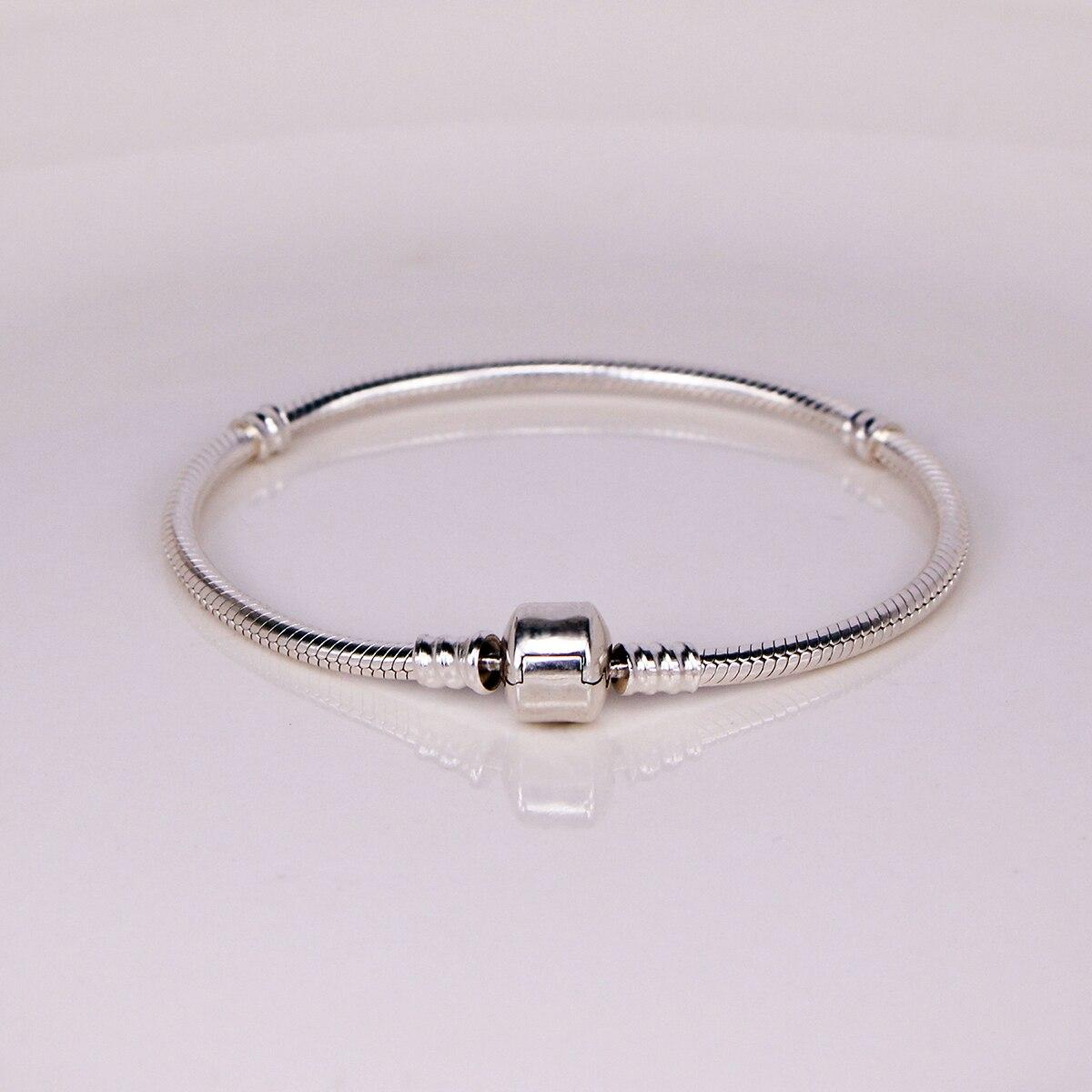 100% 925 sterling silver original classic charm for Pandora bracelet beads  as a Christmas gift