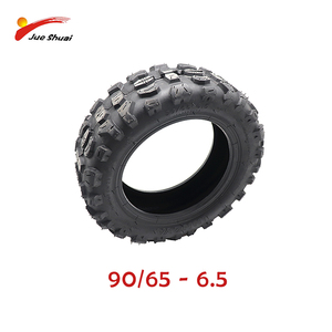 Vacuum Cross Country Tire For 60V 2600/3200W Electric Scooter 90/65-6 Off Road Tire Wear Resistance electric scooter accessories