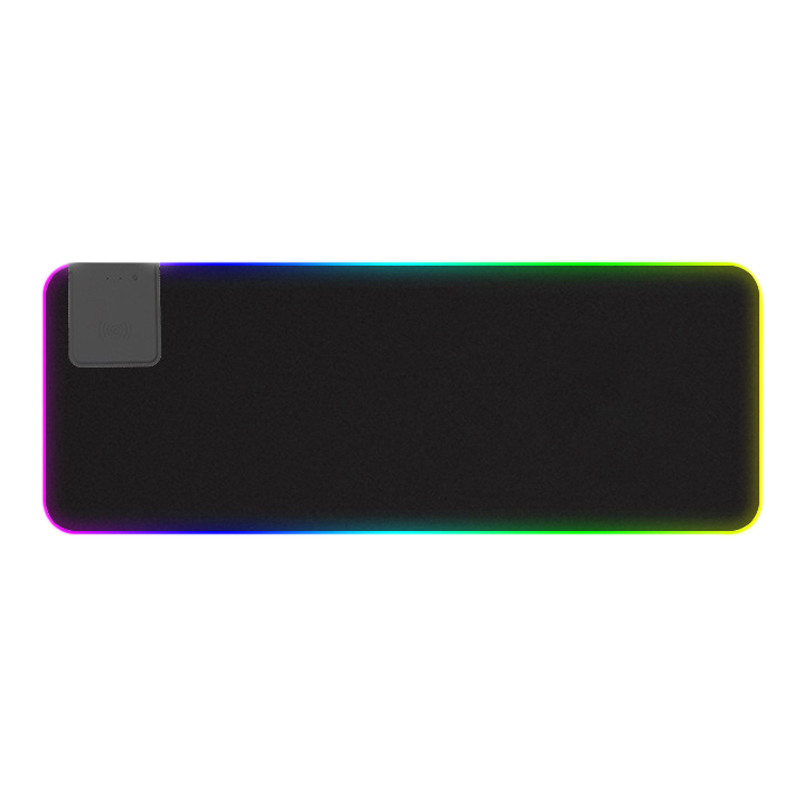 Wireless Charger RGB Luminous Oversized Desktop LED Waterproof Gaming Keyboard Mouse Pad|Mouse Pads| |  - title=