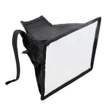 Рассеиватель для вспышки софтбокс Отражатель камера фото мягкий светильник коробка для Canon для Nikon для sony 20x30 см