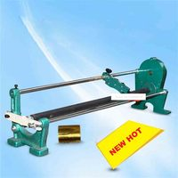 ZT 2 Manual Gold Foil Paper Cutting Machine 0 700mm Adjustable Aluminum Foil Gold Paper Cutting Machine Ribbon Slitting Hot Sale