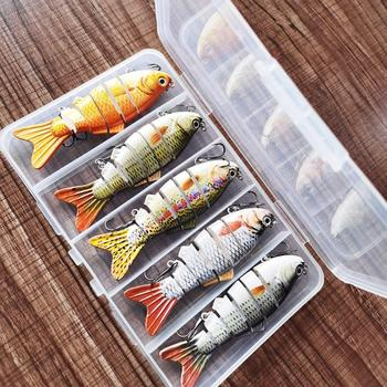 5pcs/set Bionic Swimming Lure - Suitable For All Kinds Fish Of H0T7