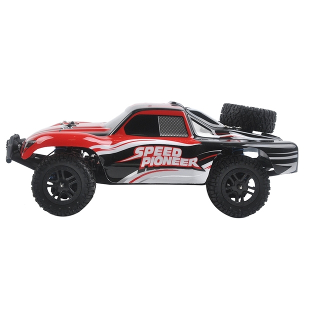 9301X RC Car 1/18 4WD 2.4G 50KM/H High Speed RC Car Remote Control Truck Toys Brushless Desert Crawler Car Vehicle Red 3
