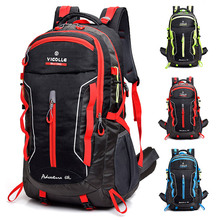 Waterproof Climbing Backpack Rucksack 60L Outdoor Sports Bag Travel Backpack Camping Hiking Backpack Women Trekking Bag For Men travel climbing backpacks men travel bags waterproof 60l hiking backpacks outdoor camping backpack sport bag men backpack