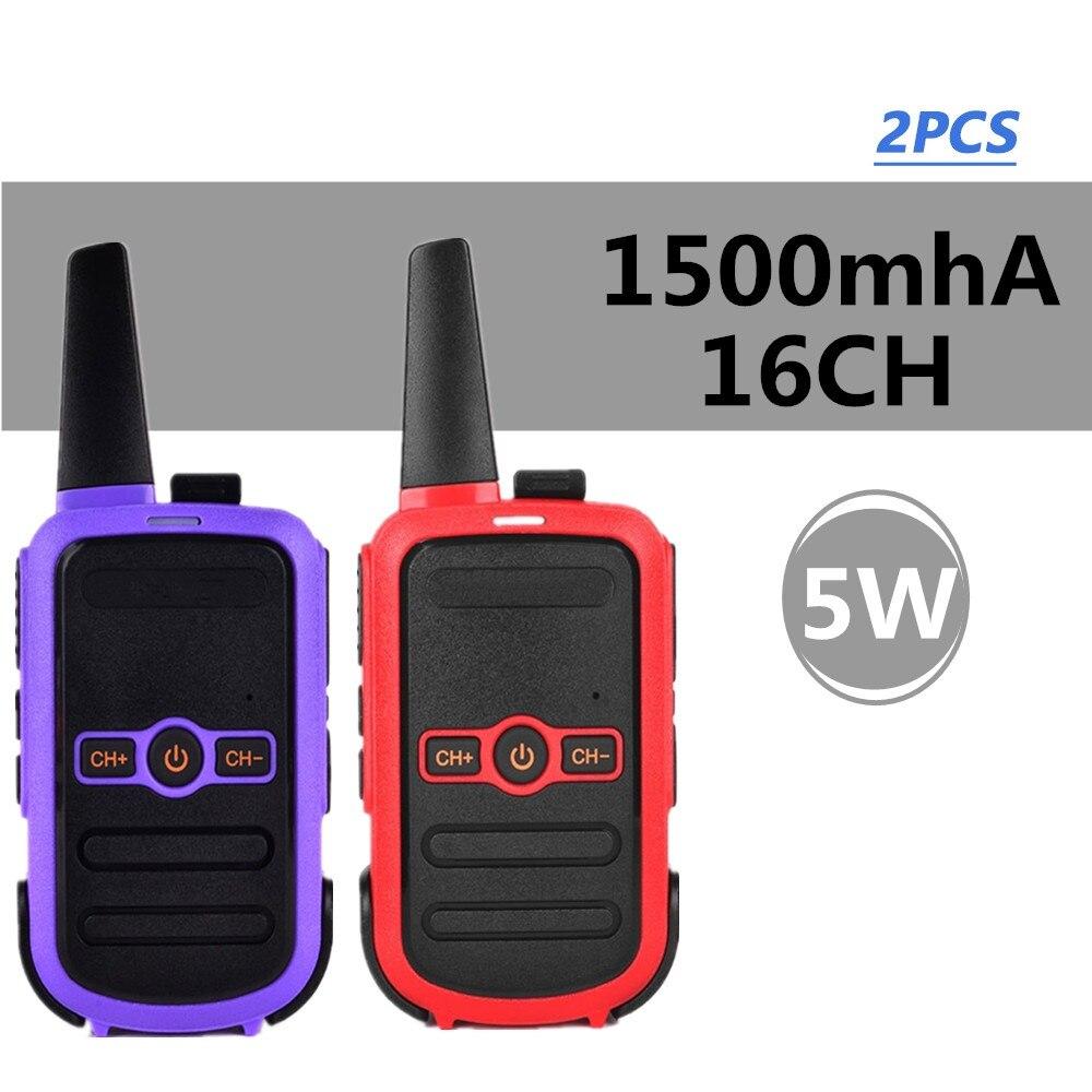 2Piece Mini Walkie Talkie Two Way Radios With 3 Channels Switch FRS 5KM Intercom Two Way Portable Scan Monitor Ham CB Radio