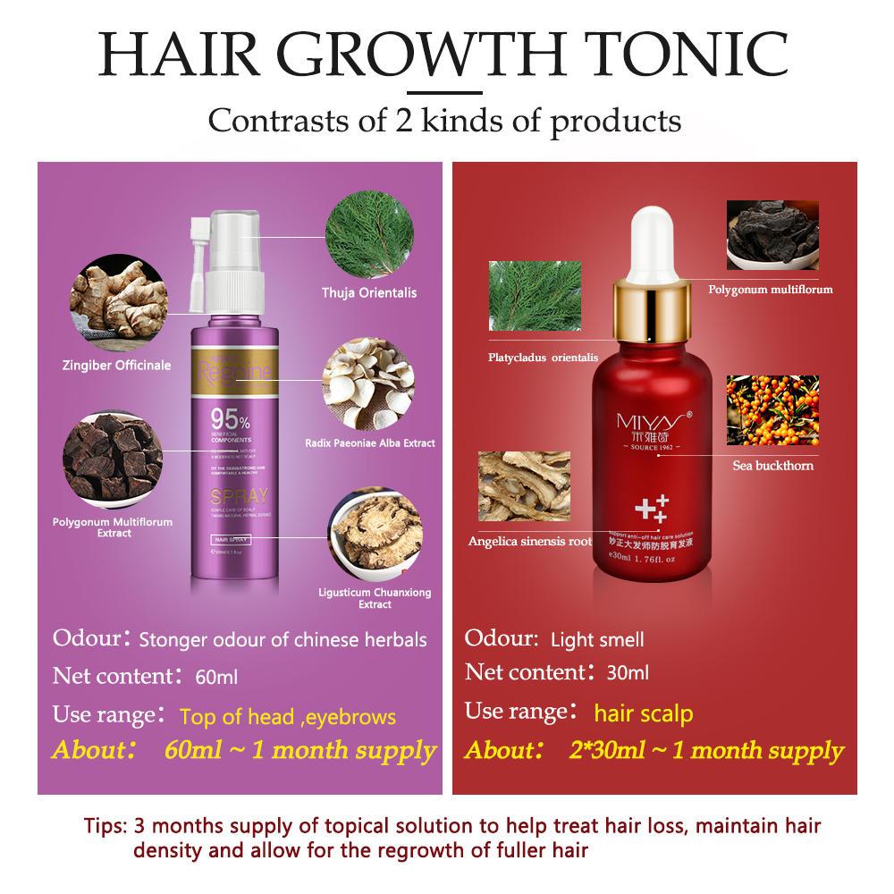 Anti Hair Loss Essence Hair Growth Treatment Oil Fast Thick Hair Eyebrows Support Natural Healthy Hair Treatment for Women 5