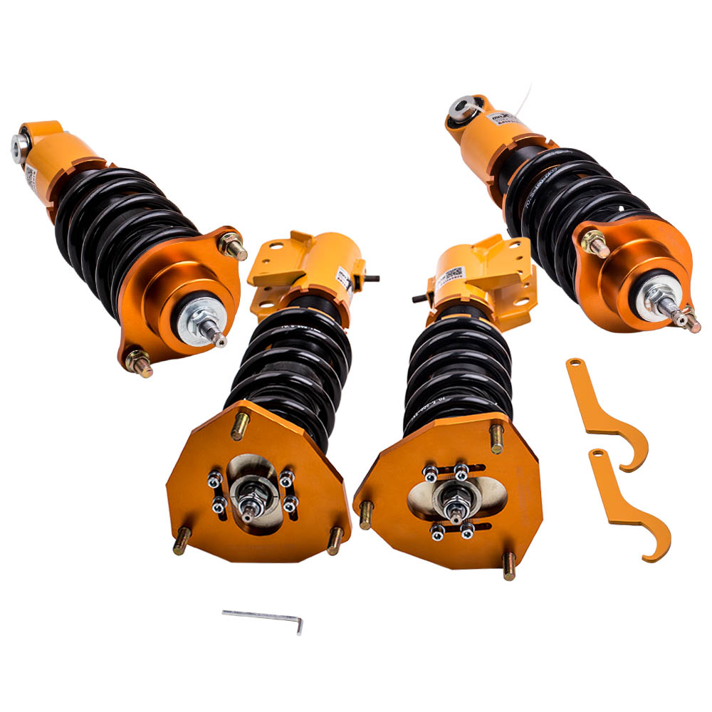 Adjustable Height Coilover Struts for <font><b>Mitsubishi</b></font> Lancer FWD 4G94/ <font><b>4G69</b></font> 2002-2006 image