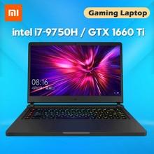 Original Xiaomi Gaming Laptop 15.6 Inch Intel Core i7-9750H 16GB DDR4 512GB SSD GTX1660Ti 6GB GDDR6 Computer Games Notebooks