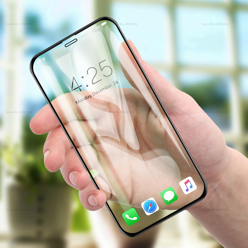 Screen Protector Toughened For IPhone 7 6 6S 5S 5 SE Plus Screen Protector Film For IPhone X 8 7 Plus XS Max XR Screen Protector