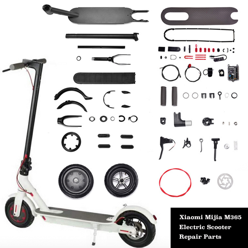 Electric Scooter Parts For Xiaomi M365 Fender Kickstand Light Dashboard Mainboard Disc Brakes For Xiaomi M365 Pro Repair Part