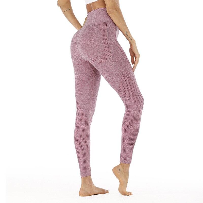 2019 New High Waist Seamless Leggings Fitness Push Up Leggins Elasticity Slim Sports Workout Leggings Drop Shipping