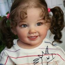 28インチリボーン人形キットcammi甘いベビー巨大なベビー幼児ソフトタッチ新鮮な色