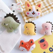 Oreiller mignon de dessin animé cataire, jouet de friandises pour chat