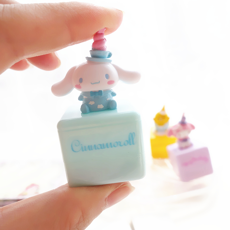 1PC Lovely Cartoon Melody Cinnamoroll Self-ink Stamps Kids Party Favors Event Supplies Cartoon Seal Gifts Party Toys