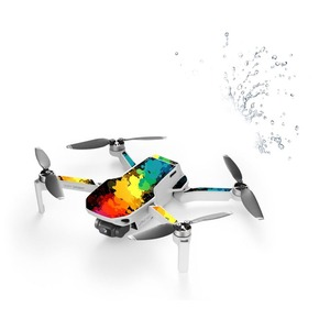 Image 3 - 6 Pcs Mavic Mini Drone Protective Film PVC Stickers Waterproof Scratch proof Decals Cover Skin for DJI Mavic Mini Accessories