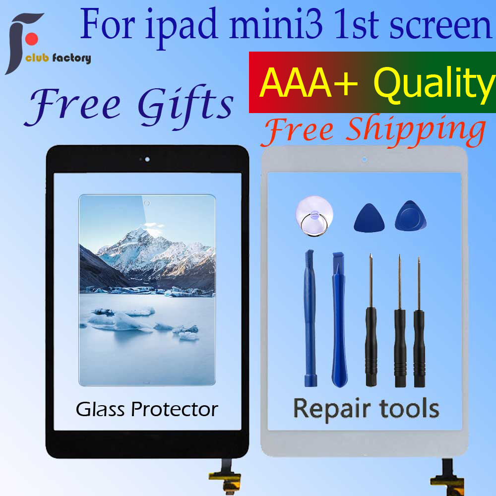 Digitizer Touch IC Flex Button FOR iPad Mini 3 A1599 A1600 Retina LCD Screen