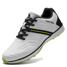 Golf-Shoes Footwears Spikless Waterproof New Men Professional for Light-Weight