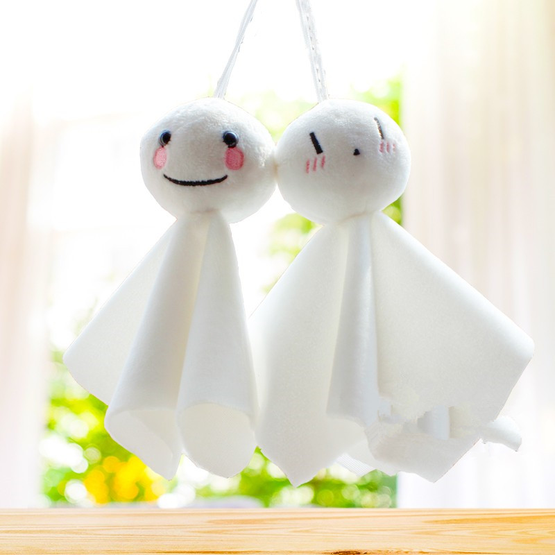 15cm Windbell Baby Vehicle-mounted Sunny Doll Animals Draw Brother Ikkyu Japanese Anime Smile Life Bag Key Chain Plush Toys