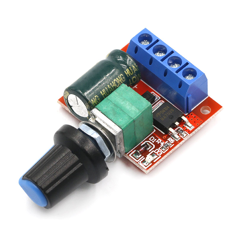 Mini DC-DC 4.5V-35V 5A 90W PWM DC Motor Speed Controller Module Speed Regulator Control Adjust Board Switch 12V 24V PN35