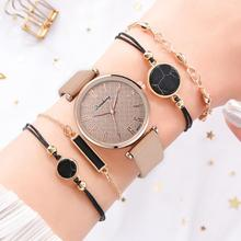 Minimalist Leather Watches For Women Simple Black Casual Dress Quartz Clock Ladies Wrist Watch 2019 Gift Reloj Mujer