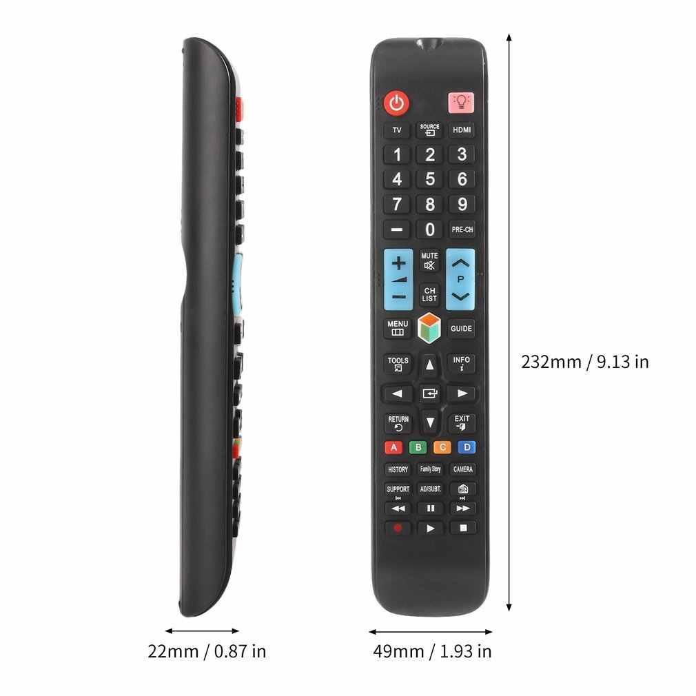 Universal Remote Control untuk Samsung Smart TV AA59-00638A Televisi Aksesori Pengganti dengan 3D Lampu Latar Tombol