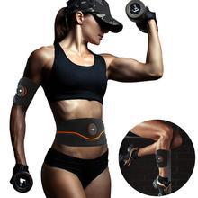 Горячая Распродажа, EMS, беспроводной стимулятор мышц, брюшной тонизирующий пояс, тонер для мышц тела, фитнес-тренировка для живота, рук, ног, унисекс